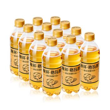 【京东超市】秋林 格瓦斯 350ml*12 发酵饮料 整箱装