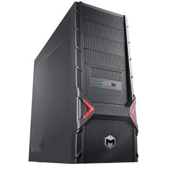 极限矩阵(Matrimax) 猛禽X6 台式游戏电脑主机(I7-7700 8G DDR4 1TB+128G SSD GTX1050Ti 4G独显)