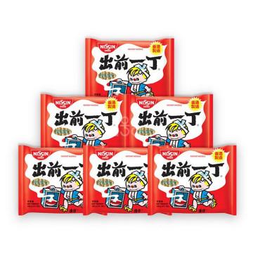 NISSIN出前一丁 麻油味油炸方便面 100g/袋 香港地区进口 X 6