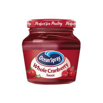 英国进口 Ocean Spray 优鲜沛蔓越莓果酱(含果粒)250g/瓶