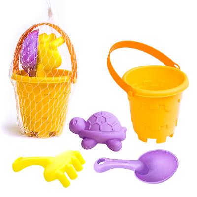 麦迪熊 软胶磨砂沙滩玩具4件套