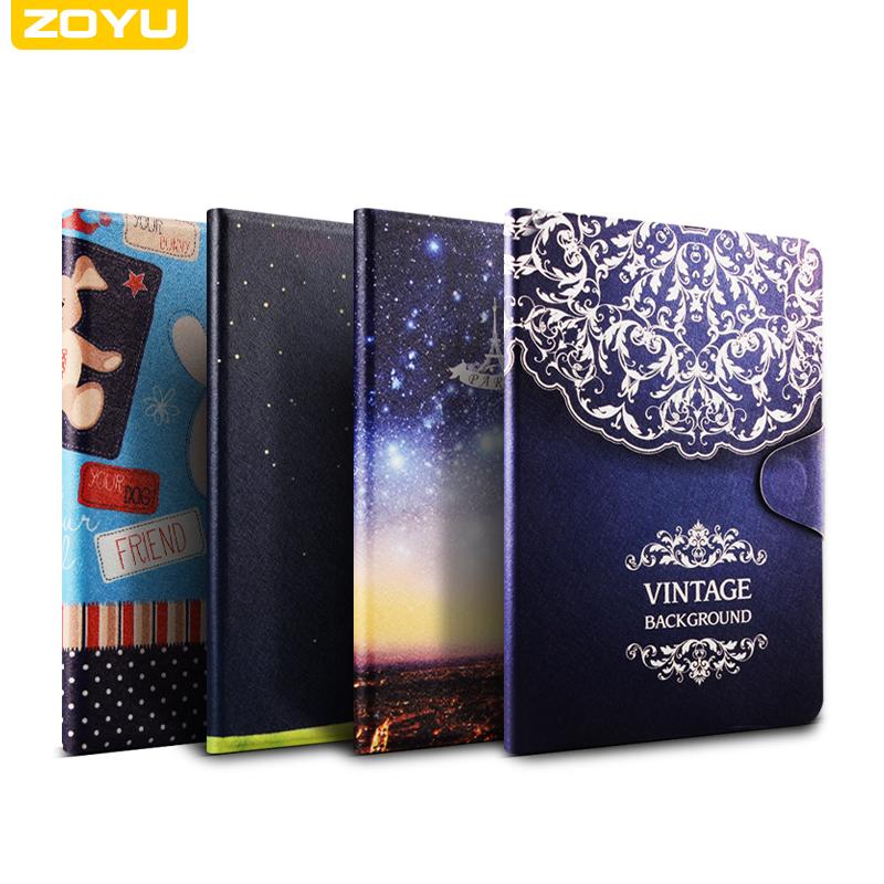 zoyu  ipad mini123通用彩绘保护套