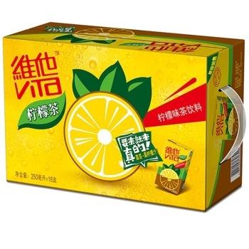【京东超市】维他 柠檬茶250ml*16盒 整箱