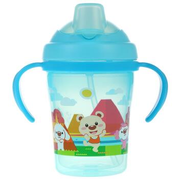 日康 RK-3430 宝宝双层自动学饮杯 颜色随机  *6件