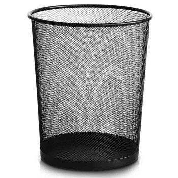 雅高 金属垃圾桶 家用垃圾篓/纸篓 大号 *8件