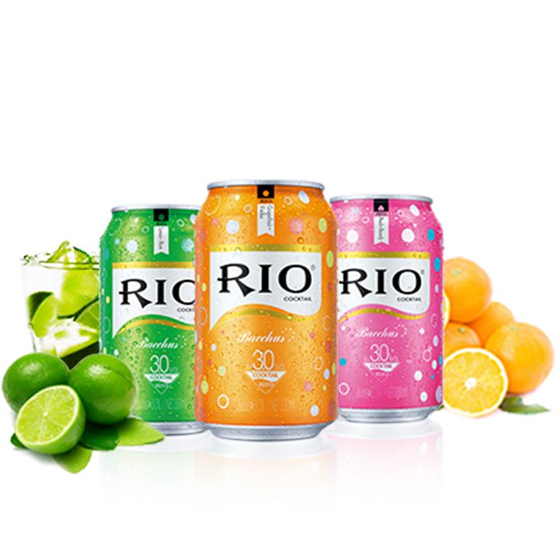 RIO 微醺鸡尾酒 330ml*3罐