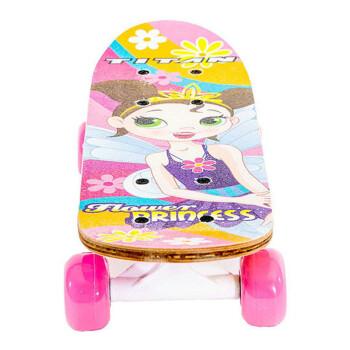 TITAN 9273 鲜花公主 女童滑板 43.1cm