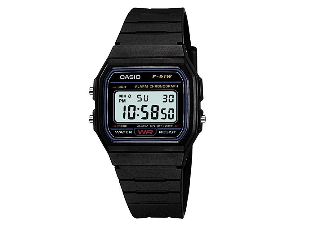CASIO 卡西欧 F91W系列 男士电子腕表