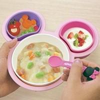 锦化成 迪士尼米妮版 婴儿辅食餐具*3套