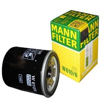 曼牌(MANNFILTER)机油滤清器W610/6(里程/思域/思铂睿/思铭/S1/CR-V/奥德赛/雅阁/锋范/飞度_)
