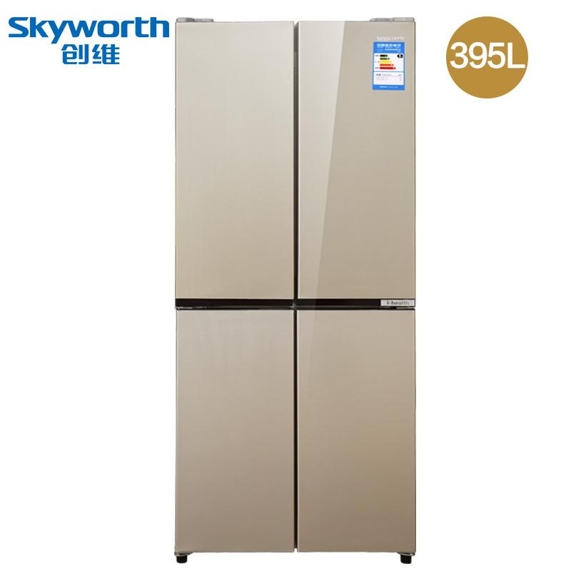 Skyworth 创维 D39H 395L 对开门冰箱