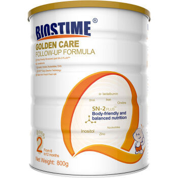 BIOSTIME 合生元 优选系列奶粉 2段 800g