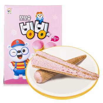 九日 欧巴熊冰淇淋形草莓饼干 53.4g