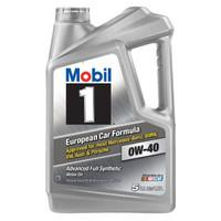 Mobil 美孚1号  0W-40 SN级 全合成机油 5QT *2瓶