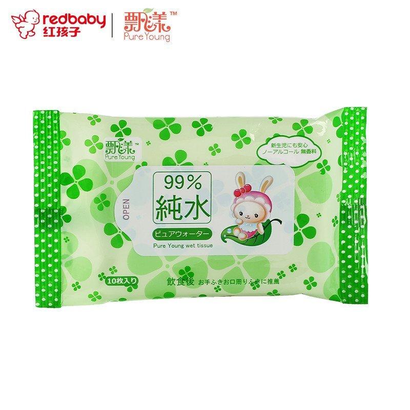 PureYoung 飘漾 婴儿柔湿巾 10片