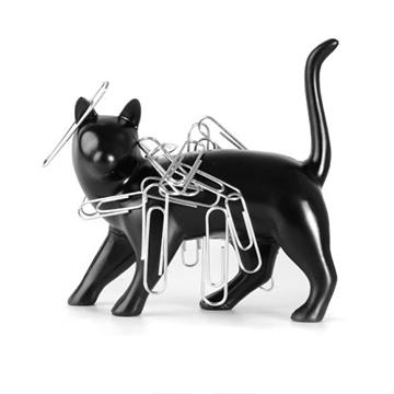 Thumbs Up! 黑猫造型 磁铁收纳摆件