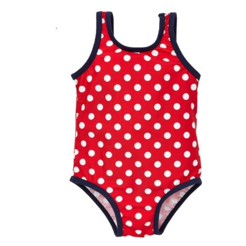 mothercare 白色波点 儿童泳衣