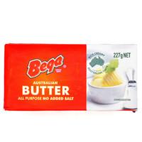 限地区:Bega 百嘉 淡味黄油块 227g/块