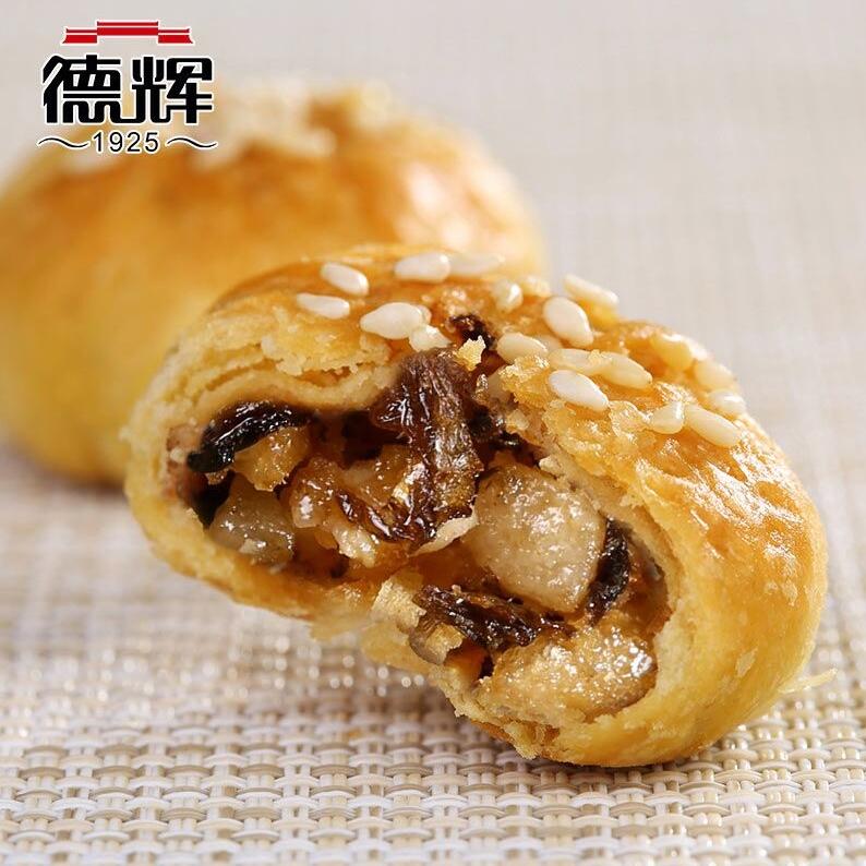 德辉 梅干菜肉酥饼 500g  约60个