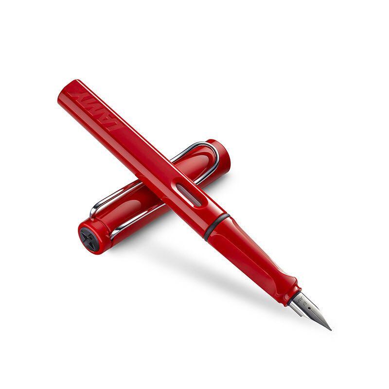 LAMY 凌美 safari 狩猎者系列 钢笔 F尖 德古拉红 *2件