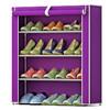 艾格调简易防尘鞋架 加厚无纺布鞋柜 创意组合3层鞋橱 19.8元