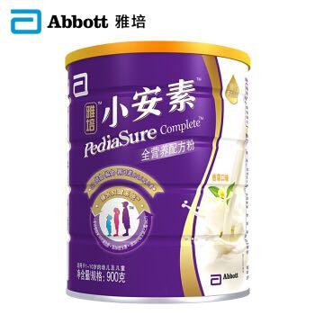 Abbott 雅培 小安素全营养配方粉 香草味 900g *3件