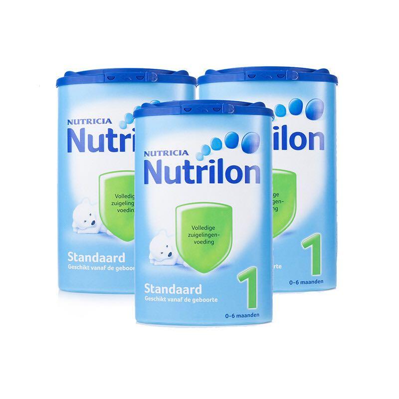Nutrilon 荷兰牛栏 婴儿奶粉1段 850克/罐 3罐装 0-6个月
