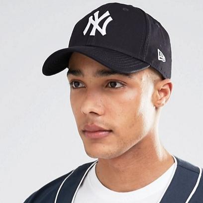 NEW ERA 9Forty NY Adjustable 男士帽子