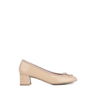 Pretty Ballerinas 真皮蝴蝶结中低跟女鞋