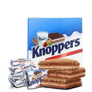 Knoppers 牛奶榛子巧克力威化饼干600g (25g*24包)