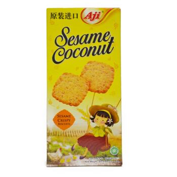 印度尼西亚进口 Aji 芝麻椰蓉麦胚饼干146克