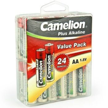 Camelion 飞狮 LR6-PBH24 超强碱性5号电池 24节装 *2件