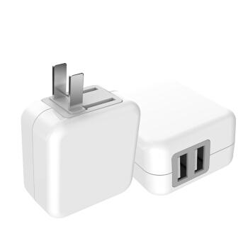 机乐堂 L-207 双USB充电器