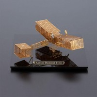 Aerobase 黄铜制 飞机拼装模型 桑托度蒙14-比斯号/安托瓦内特号