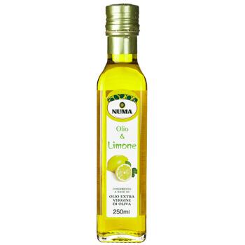 努玛 NUMA 意大利原装进口特级初榨口味橄榄油250ml柠檬味食用油 *3件