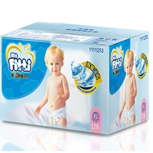 Fitti 菲比 婴儿纸尿裤  XL128片  *3件