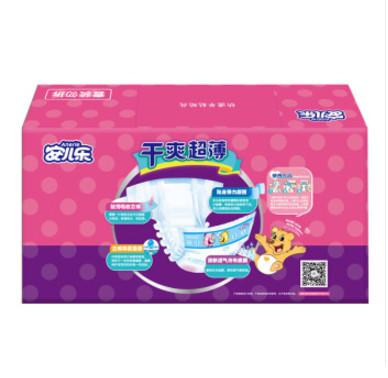 Anerle 安儿乐 干爽超薄 婴儿纸尿裤 XL108片