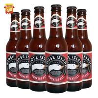 临期品、至8月23日:Goose 鹅岛 醺然艾尔啤酒 355ml*6瓶