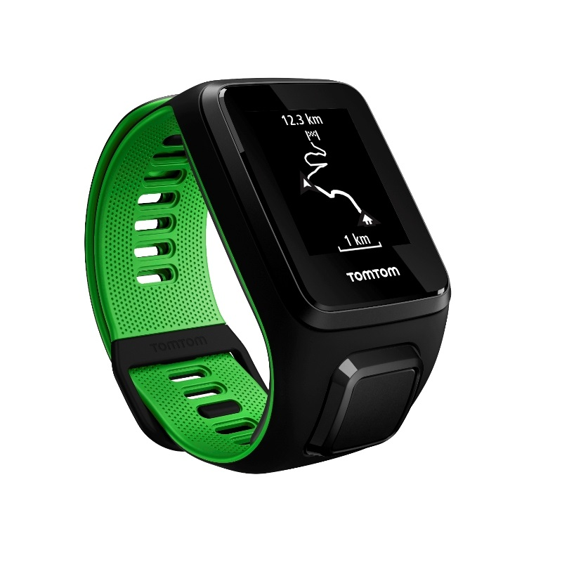 TomTom Runner3 Cardio+Music 全能款 GPS光学心率音乐运动腕表