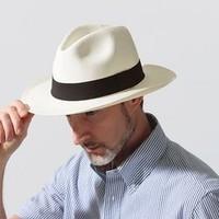 七夕礼物,淘金V计划:Ecua-andino 厄瓜多尔制 toquilla草巴拿马绅士帽*2顶
