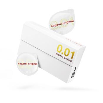 Sagami 相模原创 0.01mm 安全套 5片装 *4件