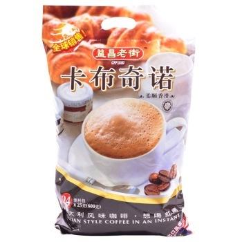 益昌老街 卡布奇诺咖啡600g *2件