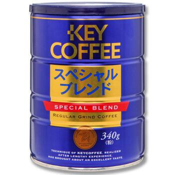 KEY COFFEE 混合特制罐装咖啡粉 340g *2件