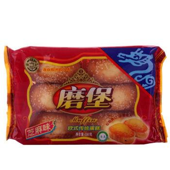 徐福记磨堡蛋糕芝麻味190g *2件