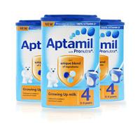 Aptamil 爱他美 婴儿奶粉 4段 英国版 800g*3罐