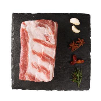 14点:得利斯 猪去皮五花肉 500g/袋 欧得莱黑山猪