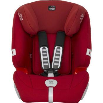 宝得适/百代适britax 宝宝汽车儿童安全座椅 超级百变王系列 红色