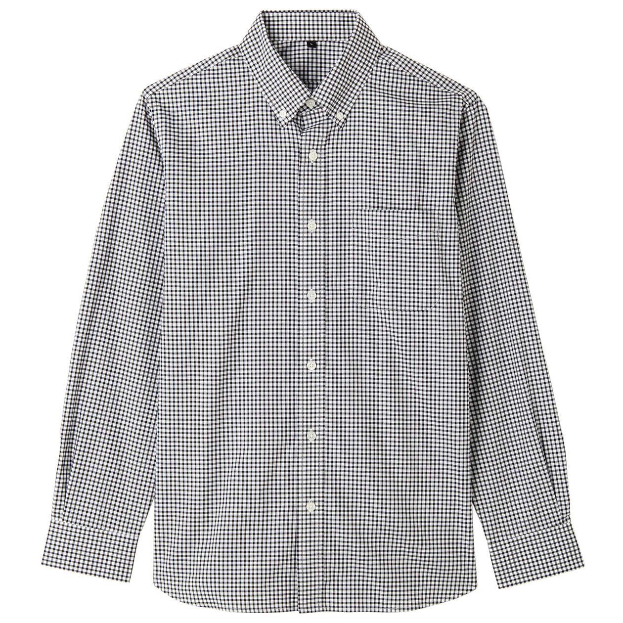 MUJI 无印良品 M4AC713 男士衬衫