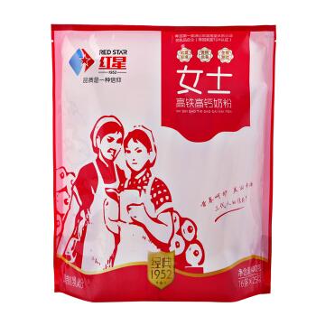 红星(RED STAR)成人奶粉  400g袋装
