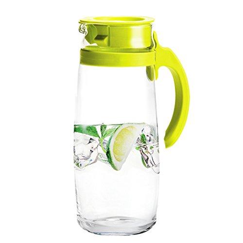 Ocean 海洋 无铅强化防暴玻璃壶 冷水壶凉水壶果汁壶茶壶热水壶 1.66L绿色